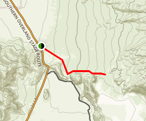 Foot and Walker Pass Map