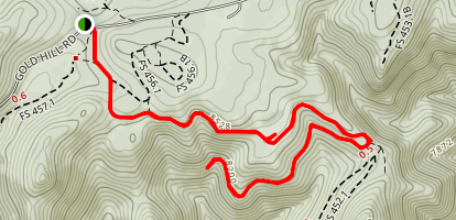 Switzerland Trail, Gold Hill Site Map