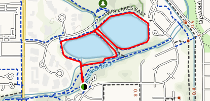 Twin Lakes Map