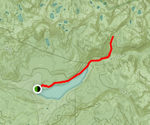 Mono Creek Map