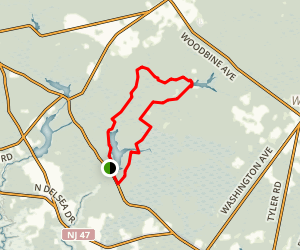 East Creek Loop Trail Map