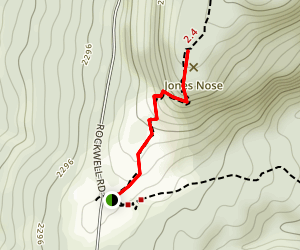 Jones Nose Trail Map