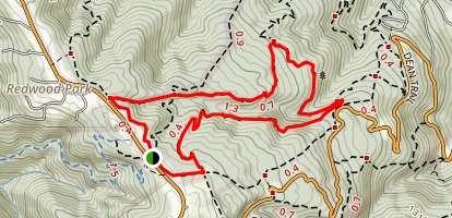 Richards Fire Road Map