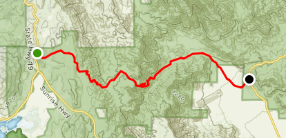 Mason Valley Truck Trail [CLOSED] Map