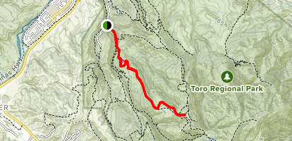 Cougar Ridge Trail Map