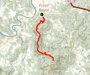Dickey Ridge Trail Map