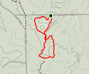 Loud Creek Trail Map