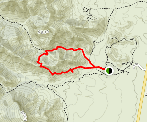 Guindani Loop Trail Map