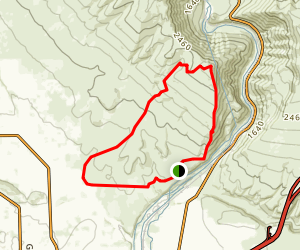 Yakima Rim Loop Trail Map