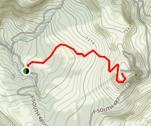 Aztec Peak Trail Map