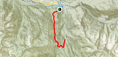 Anthracite Pass Trail Map