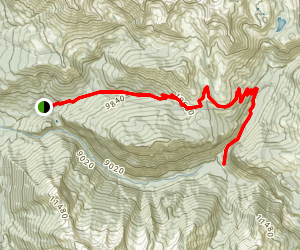 Lost Trail Road Map
