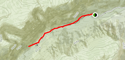 West Fork Trail (#1) Map