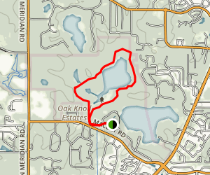 Lake Overstreet Trail at Maclay Gardens Map
