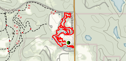 Redbug Trail Map