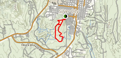 Cleveland Mine [PRIVATE PROPERTY] Map