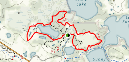 Crosby Lake Loop Map