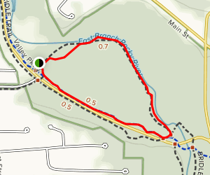 South Quarry Loop Trail Map