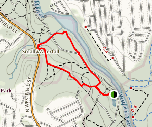 Small Waterfall Trail Map