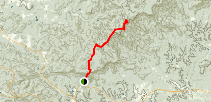 Appalachian Approach Trail Map