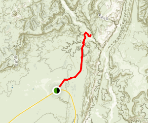 Paria River Valley Trail Map