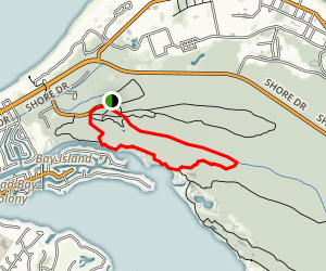 Fox Run , Long Creek, Kingfisher, Cape Henry Loop Trail Map