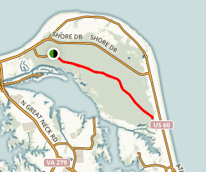 Cape Henry Trail Map