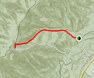 Elliott Knob Trail Map