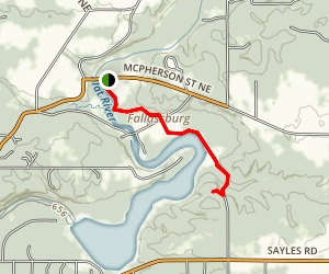 Flat River Trail Map