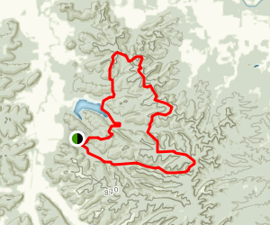 Knobstone Trail: Spurgeon Hollow to Delaney Park Map
