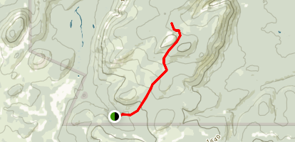 Mount Carleton Summit Trail Map