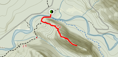 Stegosaurus Butte Trail Map