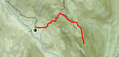 Guye Peak Trail Map