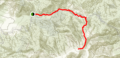 Mount Bogong via Eskdale Spur Trail Map