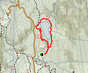 Sotcher Lake Trail Map