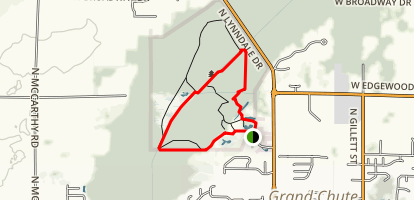 Deer Run and Wilderness Trails Loop Map