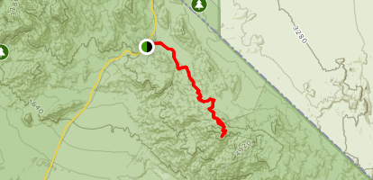 Chloride City Trail Map