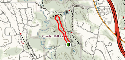 Old Ski Run Trail Map