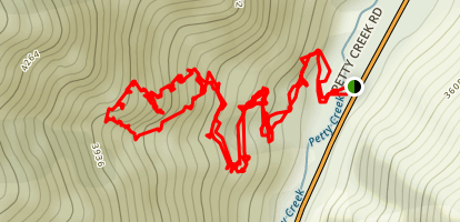 Tepee Ridge Trail Map