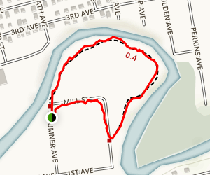 Belmont Park Trail Map