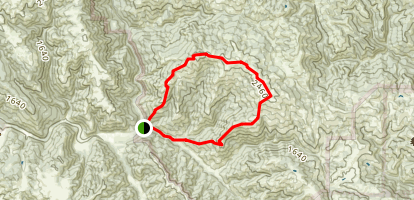 Steer Ridge Loop at Hunting Hollow Map