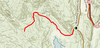 Corral Canyon Map