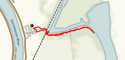 Delta Meadows State Park and Historic Locke Trail Map