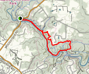 Patapsco Valley Granite-Woodstock Trail Map