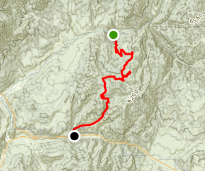 Monks Hollow Trail Map