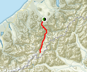Whitcomb Valley Track Map
