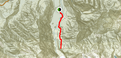 Robert's Point Track Map
