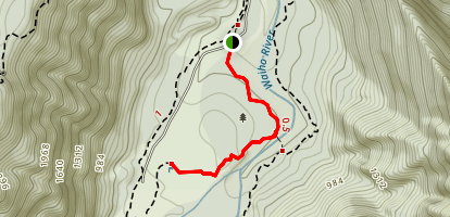 Peter's Pool Trail Map