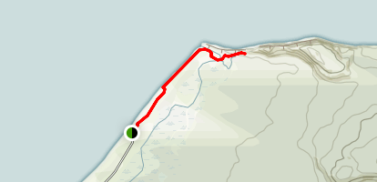 Gillespies Beach Trail Map