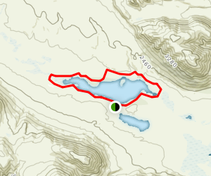 Lake Clearwater Track Map